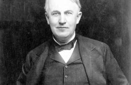 Thomas Edison Mini-Bio